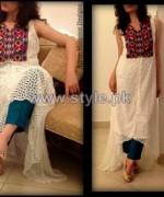 Anum Mansoor Trendy Eid Dresses 2014 For Girls 3