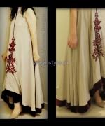 Anum Mansoor Trendy Eid Dresses 2014 For Women 8