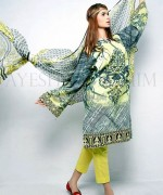Ayesha Ibrahim Lawn Dresses 2014 For Girls 3
