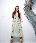 Ayesha Ibrahim Lawn Dresses 2014 For Girls 8