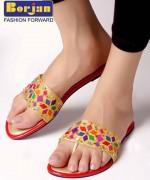 Borjan Shoes Eid Footwear Collection 2014 For Women 007
