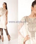 Fahad Hussayn Digital Print Dresses 2014 For Girls 5