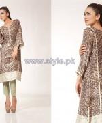 Fahad Hussayn Digital Print Dresses 2014 For Girls 6