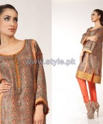 Fahad Hussayn Digital Print Dresses 2014 For Women 9