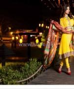 Farah Leghari Eid-Ul-Fitr Clothes 2014 by Shariq Textiles 1