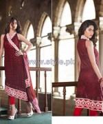 Farah Leghari Eid-Ul-Fitr Clothes 2014 by Shariq Textiles 2
