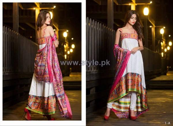Farah Leghari Eid-Ul-Fitr Clothes 2014 by Shariq Textiles 3