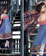 Farah Leghari Eid-Ul-Fitr Clothes 2014 by Shariq Textiles 4
