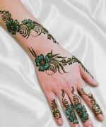 Glitter Mehndi Designs 2014 For Women 008