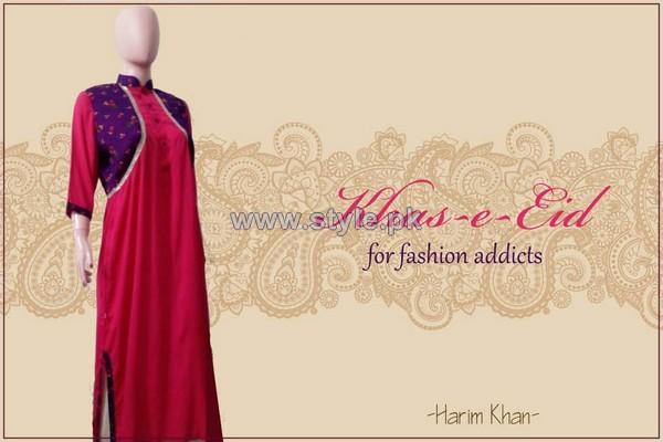 HK-Dot to Design Eid-Ul-Fitr Dresses 2014 For Girls 3