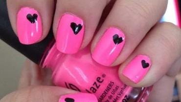 Heart Nail Art Designs 2014 For Women 0012