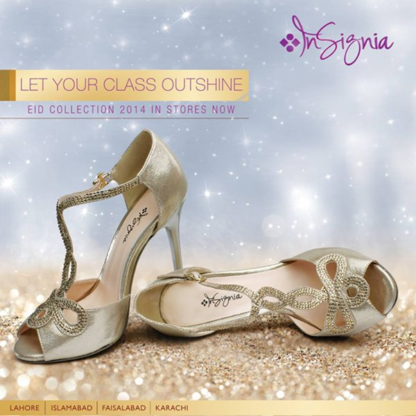 Insignia Eid Footwear Collection 2014 For Women 002