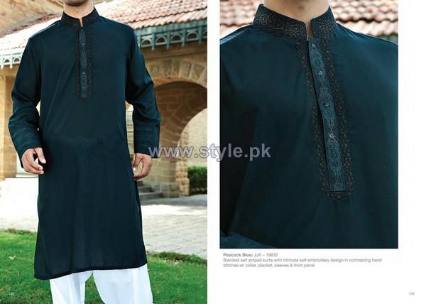 Junaid Jamshed Eid Clothes 2014 For Men 6