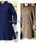 Junaid Jamshed Eid Clothes 2014 For Men 9