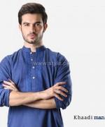 Khaadi Man Kurta Designs 2014 For Eid 12