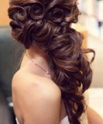 Latest And New Eid Hairstyles 2014 For Women 004