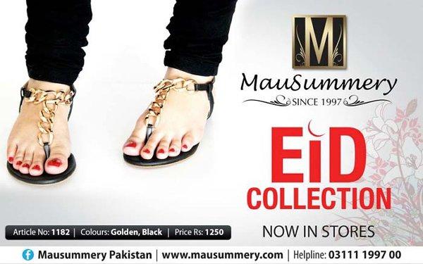 Mausummery Eid Footwear Collection 2014 For Women 003
