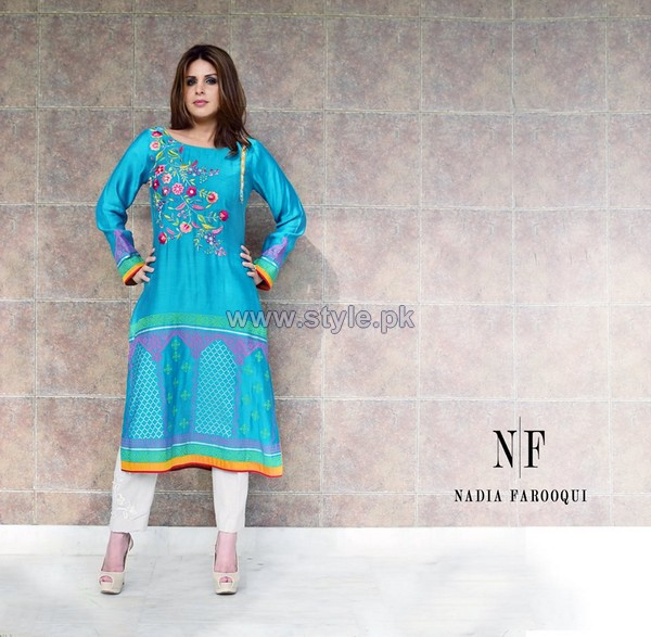 Nadia Farooqui Eid Suits 2014 For Women 8