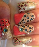 New Nail Art Designs For Eid 004