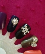 New Nail Art Designs For Eid 008