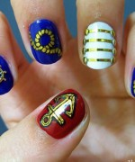 New Nail Art Designs For Eid 009