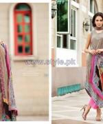 Resham Ghar Chiffon Dresses 2014 For Eid 1