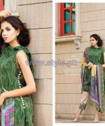 Resham Ghar Chiffon Dresses 2014 For Eid 3