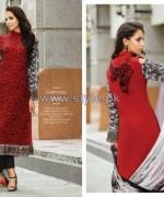 Resham Ghar Chiffon Dresses 2014 For Women 11