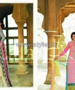 Sana Samia Eid Dresses 2014 by Lala Textiles 2