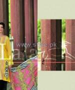 Sana Samia Eid Dresses 2014 by Lala Textiles 5