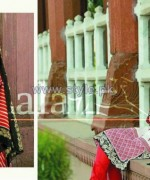 Sana Samia Eid Dresses 2014 by Lala Textiles 7