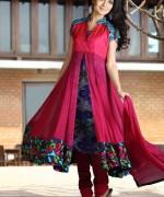 Trends Of Anarkali Frocks 2014 For Eid 0015