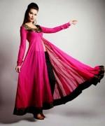 Trends Of Anarkali Frocks 2014 For Eid 004