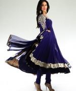 Trends Of Anarkali Frocks 2014 For Eid 005