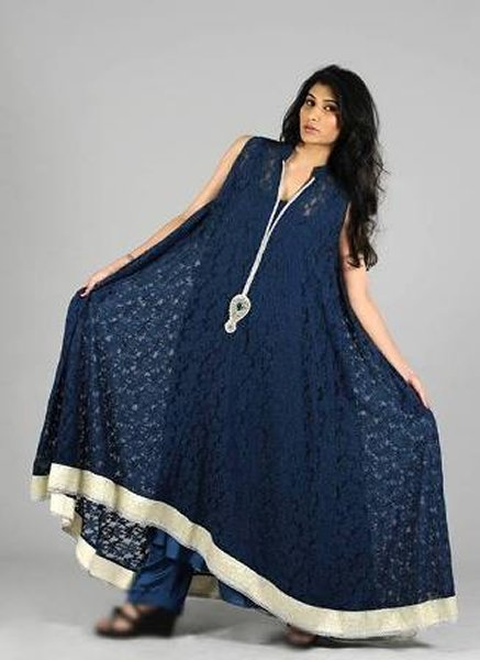 Trends Of Anarkali Frocks 2014 For Eid 006