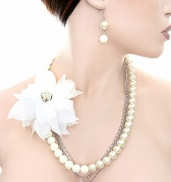 Trends Of Flower Designed Jewellery For Women 008