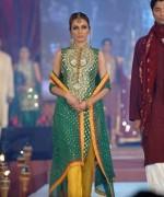 Trends Of Green Mehndi Dresses 2014 For Women 0011