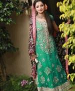 Trends Of Green Mehndi Dresses 2014 For Women 0012