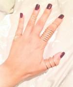 Trends Of Midi Rings For Women 001