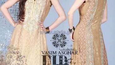 Vasim Asghar Eid Dresses 2014 For Girls 1