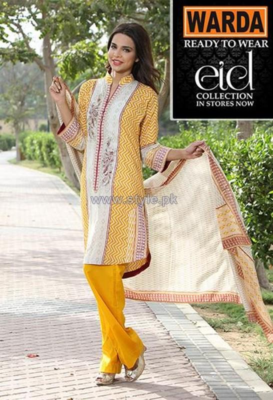 Warda Designer Eid Dresses 2014 For Women 5
