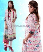 Yellow Lawn Dresses 2014 For Eid 2