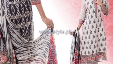 Yellow Lawn Dresses 2014 For Eid 4