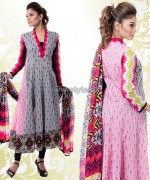 Yellow Lawn Dresses 2014 For Eid 6