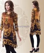 Yellow Lawn Dresses 2014 For Eid-Ul-Fitr 10