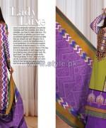 Al-Hamra Textile Mid Summer Dresses 2014 For Girls 1