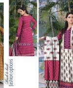 Al-Hamra Textile Mid Summer Dresses 2014 For Girls 2