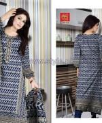 Al-Hamra Textile Mid Summer Dresses 2014 For Girls 4