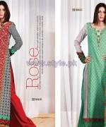 Al-Hamra Textile Mid Summer Dresses 2014 For Women 8