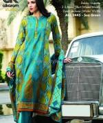 Al-Karam Textile Mid Summer Dresses 2014 For Girls 1